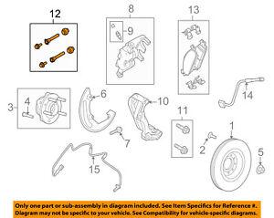 FORD OEM Brake-Front-Caliper Repair Kit 6L2Z2386A