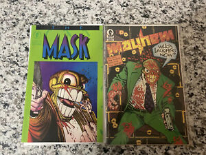 The Mask Mayhem 1 First Apperence Mask And Mask 1 Dark Horse 1989 First Ipkiss