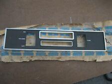 1968 Plymouth Valiant Radio Bezel New MOPAR NOS 2864534