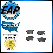 For Acura CL TL TSX ILX Honda Accord Civic S2000 Prelude Rear Disc Brake Pad NEW