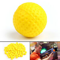 100pcs Round Refill Pack Replace Bullet Balls for Rival Apollo Zeus Toy Gun