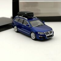 1:64 Volkswagen Passat R36 Travel Edition Diecast Toys Model Car Gifts Blue