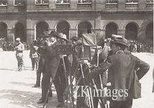 CAMERA ACTUALITE Invalides Pathé Gaumont Eclair 1910s