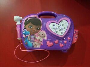Disney Junior Doc McStuffins Rockin Doc Sing-Along Boombox MP3 - Parts Only