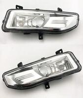 Pair Front Fog Lamps Bumper LH RH Driving Lighting For Nissan Qashqai 2018-2019
