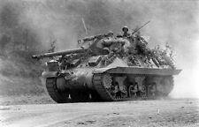 WW2 Photo WWII US Army M10 Tank Destroyer near Rome  Italy 1944 / 3117