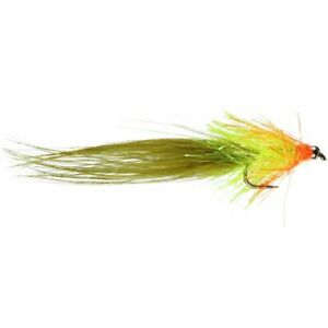 Olive Cut Throat Cat - Size 10 - Rainbow Trout Lure - Fly Fishing