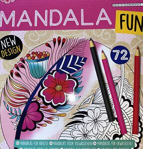 Malbuch für Erwachsene Mandala Fun 72