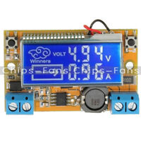 LCD Display Adjustable DC-DC Double Display Step Down Pulse Power Supply Module