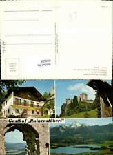 633658,Mehrbild Ak Latschach ob dem Faakersee Gasthof Ruinenstüberl