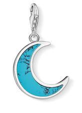 Thomas Sabo 1537-404-17 Charm Anhänger türkiser Mond 925 Sterling Silber neu