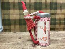 MAILEG Danish Climbing Pixy Pixie Soft Doll Magnetic Christmas