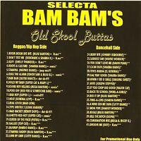 DJ Selecta Bam Bam Old Skool Buttas Reggae Hip Hop Dancehall NYC Mixtape MIX CD