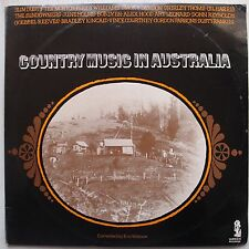 COUNTRY MUSIC IN AUSTRALIA: Slim Dusty SCARCE IMPORT vinyl lp WOW