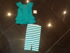 """NWT Juicy Couture New & Gen. Baby Girls 2 Piece Set Age 6/12 MTHS With """"JC"""" Logo"""