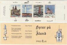 Åland 1992 Lighthouses, Rannö, Sälskär, Lagskär, Märket, SG B1, MNH / UNM