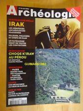Archéologia n°411 mai 2004 Irak Choqek'iraw au Pérou
