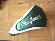MACGREGOR TOURNEY DRIVER HEADCOVER - green / white - GOOD USED