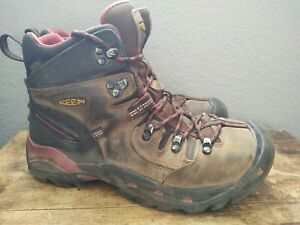 KEEN Dry Men's Steel Toe Waterproof Work Hiking Boots ASTM F2413-18 Size 9d