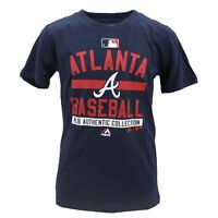 Atlanta Braves Official MLB Majestic Kids Youth Size T-Shirt New with Tags