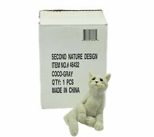 Quarry Critters stone figurine sculpture NIB second nature CoCo cat kitten box