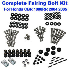 Complete Fairing Bolt Kit Body Screws Nuts Bolts For HONDA 2004 2005 CBR 1000RR