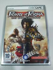 PRINCE Of Persia Las Dos Coronas Ubisoft - Set para PC Dvd-rom - 3T