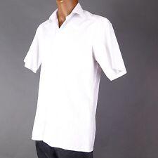 Gestreifte klassische Kurzarm Herrenhemden Olymp