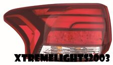 MITSUBISHI OUTLANDER 2016 LEFT DRIVER TAILLIGHT TAIL LAMP REAR LIGHT NEW