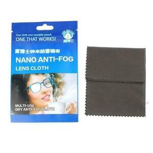 Reusable Anti-Fog Wipes Glasses Pre-moistened Antifog Cloth Ship Lens