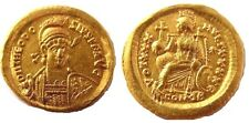 Ancient Roman Gold Coin Theodosius II.Solidus Constantinople