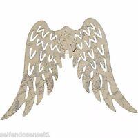 DIY Deko Flügel Wings Engel Metall Metallic silber shabby chic Nostalgie Vintage