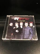 Nsync: Bye Bye Bye; Promo CD Single-VG Condition-Jive Records-2000