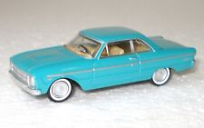 *NEW* 1964 Turquoise Mist XM Ford Falcon Coupe 1:87 Diecast Model Car - Cooee