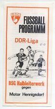 DDR-Liga 79/80 ZEPA semiconductores obra Frankfurt-motor hennigsdorf, 25.11.1979