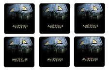 "AMITYVILLE HORROR COASTERS 1/4"" BAR & BEER SET OF 6"