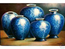 Antique Jars 24x36 Art Philippines Oil Painting