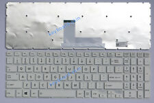 New for Toshiba Satellite L55-C,L55D-C series laptop Keyboard white no frame