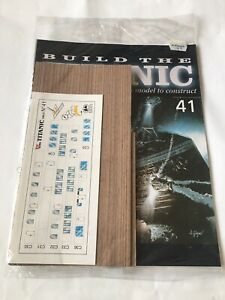1/250 Hachette Build The Titanic Model Ship Issue 41  Inc Part Pictured.