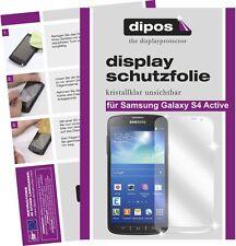 Samsung Galaxy S4 Active Schutzfolie klar Displayschutzfolie Folie unsichtbar