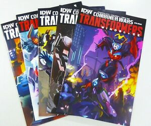 IDW TRANSFORMERS COMBINER WARS #39 41 42 + WINDBLADE #1 #4 Lot VF+ to NM