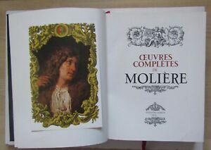 Oeuvres Complètes Molière  Editions Famot illustré