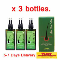 3 Neo Hair Lotion Green Wealth Growth Root Hair Loss Sideburns Treatment 120ml.