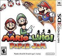 Mario & Luigi: Paper Jam Nintendo 3DS Game