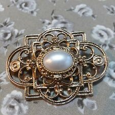 Pearl Pin X36 Unbranded Victorian Style Faux