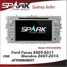 SP GPS DVD SAT NAV IPOD BLUETOOTH FOR FORD FOCUS 2009-2011 MONDEO 07-14 SILVER