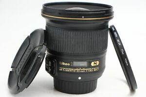 Nikon NIKKOR AF-S 20/1.8 20MM F1.8G G N ED Lens DHL 3-5 DAYS SHIPPING!