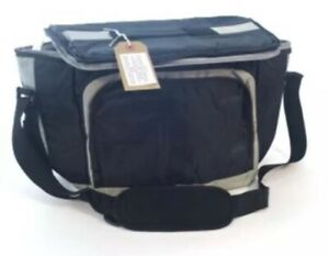 2 x 20 ltr Large Insulated sandwich Bag, ideal for picnics days out work etc