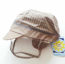 Neues AngebotMütze Gr.51 Sterntaler NEU UV 50+ braun wendbar ohrenschutz kinder sommer