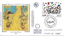 1994 - BASELITZ - ART CONTEMPORAIN - TABLEAU -  N° 2914 - PARIS